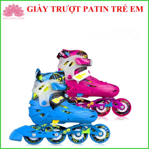 Mua Giày Trượt Patin Trẻ Em Tặng Đồ Bảo Hộ + Gía Điện Thoại +Móc 3D - 255k - KIM DUNG STORE