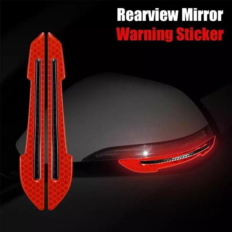 Bộ hai miếng dán phản quang chống va đập gương xe ô tô