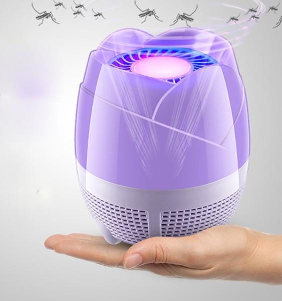 Đèn Bắt Muỗi Hình HOA SEN