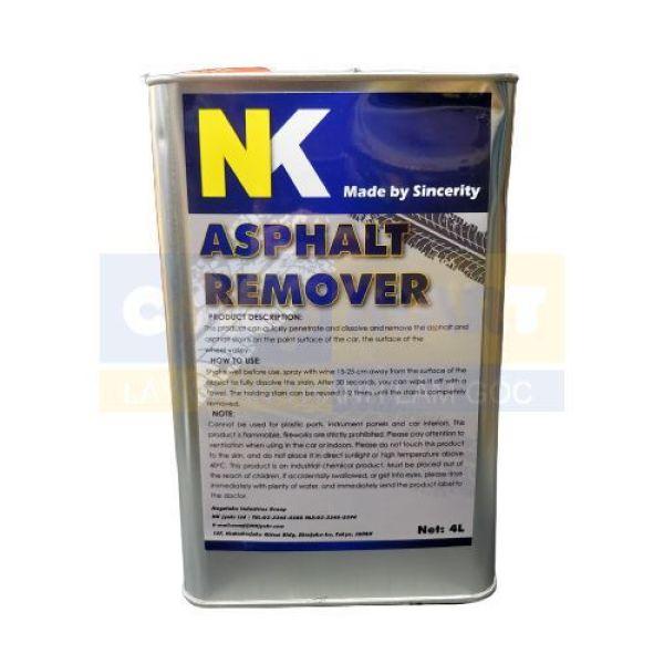 Tẩy Nhựa Đường / Tẩy Keo NK 4L