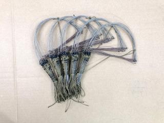 Giò bẫy gà rừng 1 bộ 20 chân ( giò đá ) cáp inox se 4 dây dù toàn bộ màu cỏ khô hàng chuẩn mua về chỉ việc sử dụng thumbnail