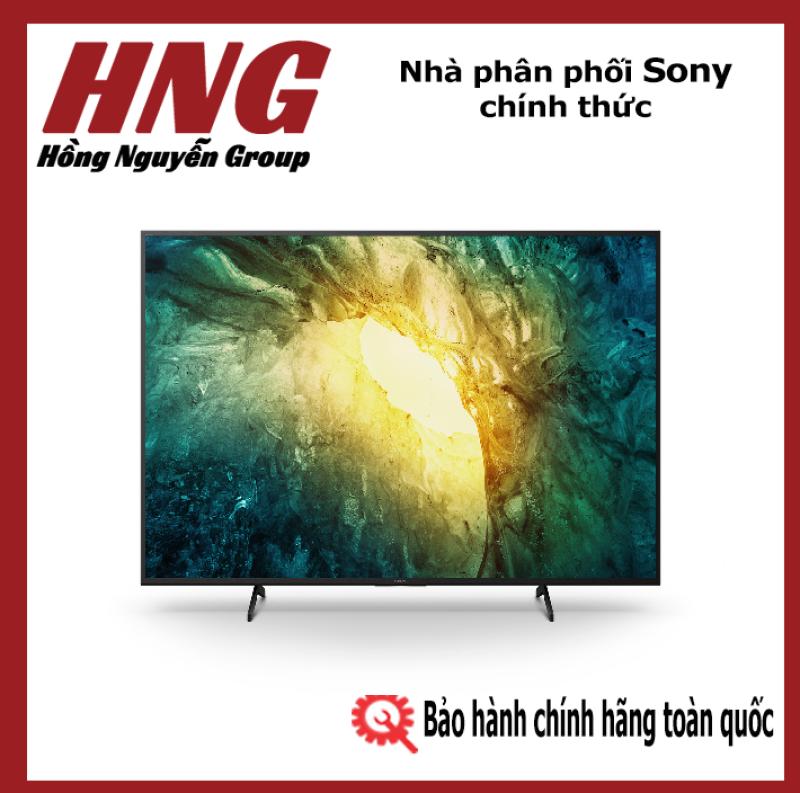 Bảng giá Tivi Sony Bravia 4K HDR 65 inch KD-65X7500H - Hàng phân phối chính hãng - Bảo hành 2 năm