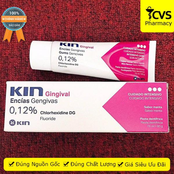 Kem đánh răng Kin Gingival 90g - cvspharmacy giá rẻ
