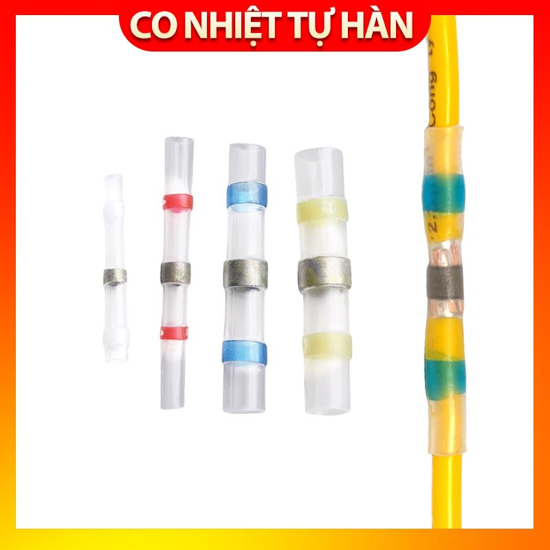 Bảng giá Combo 10 chiếc cút nối dây điện tự hàn co nhiệt cho dây điện các cỡ