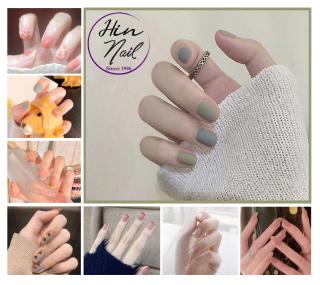 [Lấy mã giảm thêm 30%] [TẶNG 1 dũa + 1 lọ keo] Bộ 24 móng tay giả có keo sẵn dán móng - hàng cao cấp nghệ thuật chống nước - mong tay giả giá rẻ thumbnail