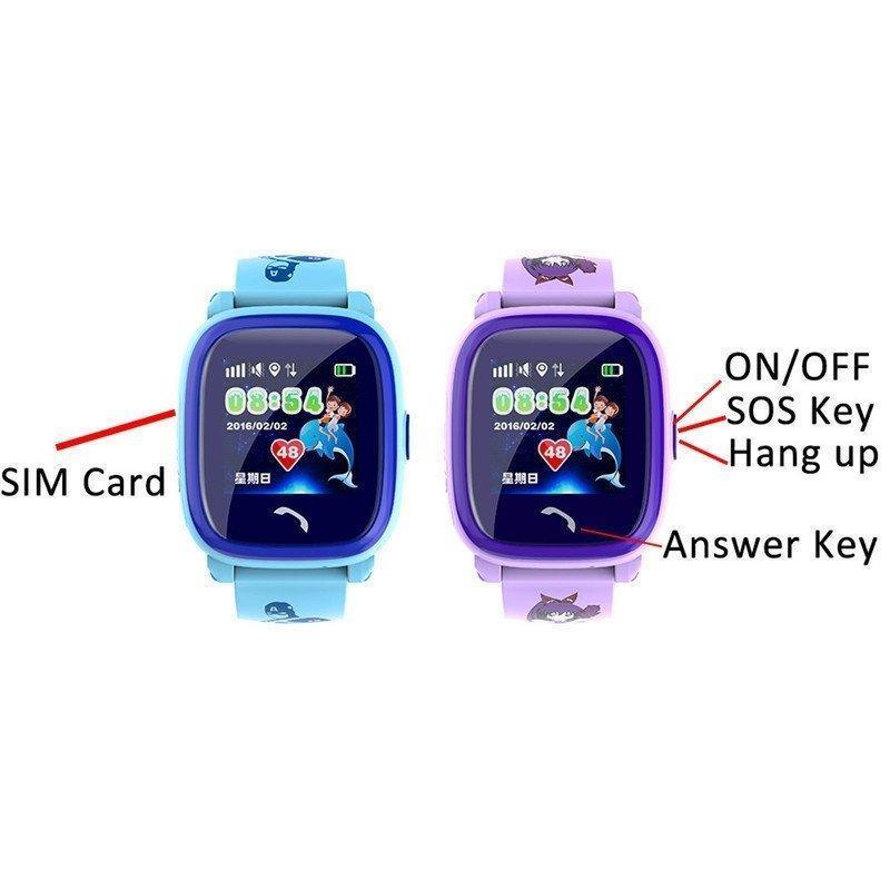 Nơi bán Đồng hồ thông minh trẻ em định vị GPS màn hình cảm ứng chống nước chuẩn IP67