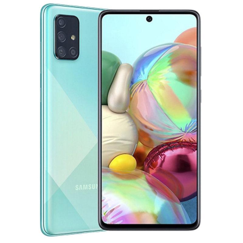 Điện Thoại Samsung Galaxy A71 128GB (8GB RAM) - Màn hình tràn viền vô cực 6.7 inch SuperAmold Full HD + Bộ 4 CAMERA SAU 64MP + Dung lượng Pin ấn tượng 4,500mAH