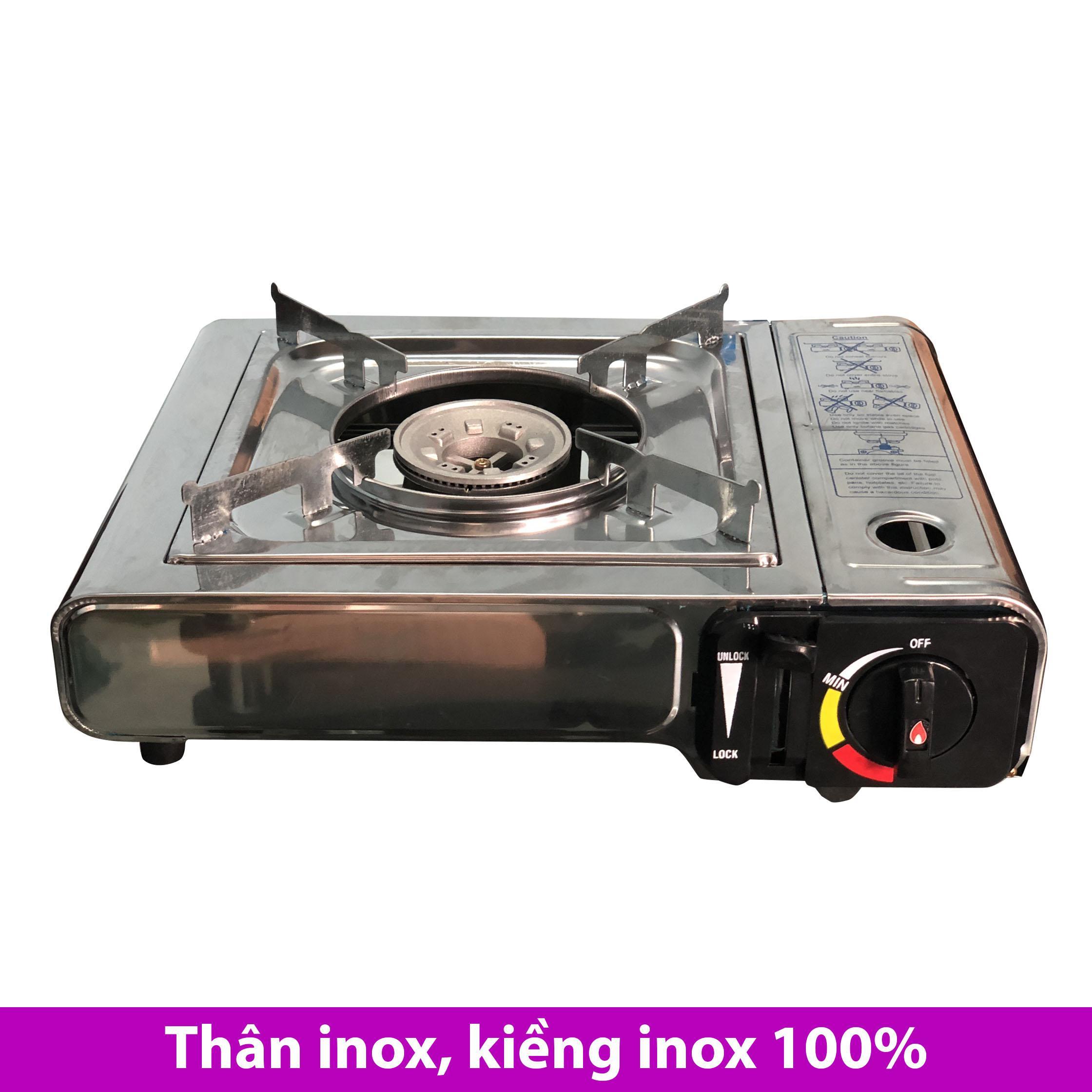 Bếp ga du lịch mini Unbranded INOX 100%