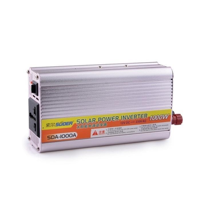 Bộ đổi điện từ 12VDC sang 220VAC 1000w Suoer