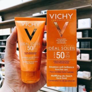 Kem Chống Nắng Không Gây Nhờn Rít Không Màu SPF50 Vichy Capital Soleil (50ml) thumbnail