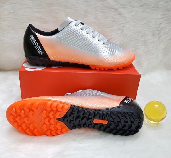Giày đá bóng giày đá banh sân cỏ nhân tạo NT200 đế cao su khâu full đế