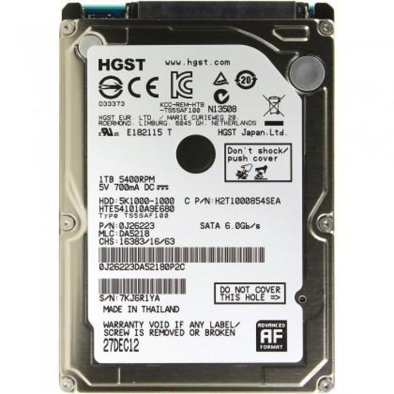 Bảng giá Ổ cứng laptop 1TB HGST/ Western/seagate 2.5 inch Phong Vũ