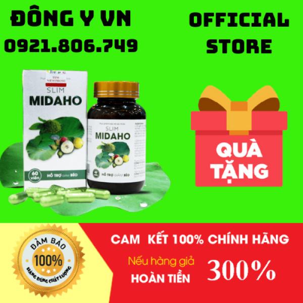 [HCM]Thực phẩm bảo vệ sức khỏe Slim Midaho[Tặng kèm mặt nạ dưỡng trắng da]Viên Uống Giảm Cân Tự Nhiên-Đông Y VN-YY1 cao cấp