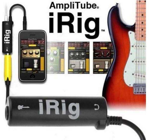 Irig Thiết bị thu âm cho điện thoại IOS và Android - Dùng thu âm đàn guitar livestream và các công dụng lọc âm karaoke - Duy Guitar Store