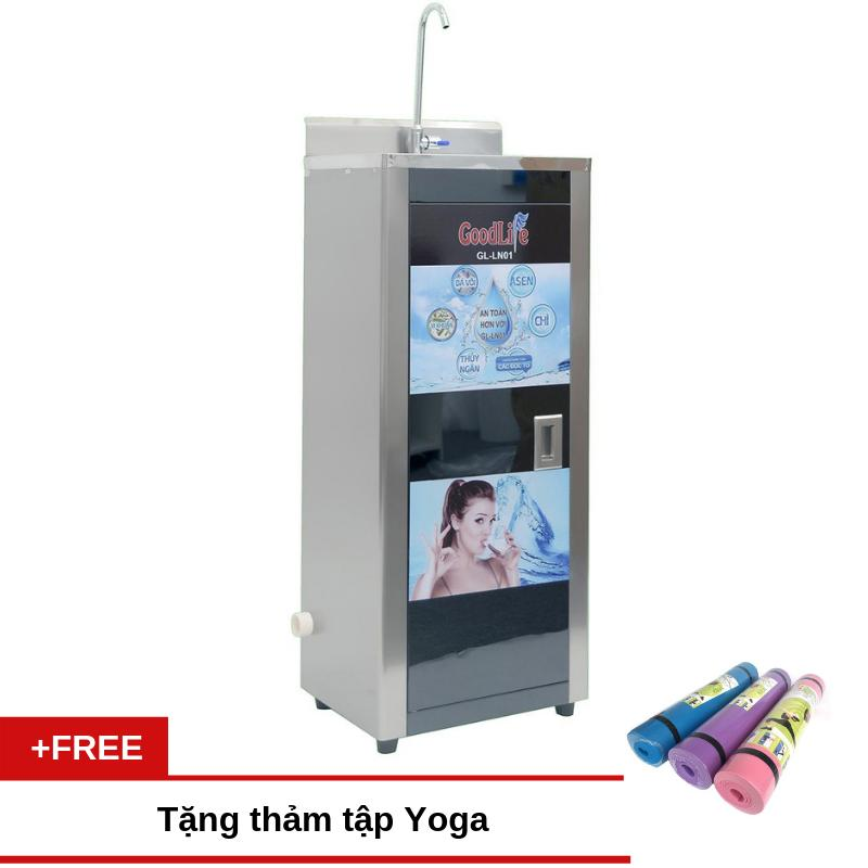 Máy lọc nước GoodLife GL-LN01 (có bình chứa) + Tặng thảm tập Yoga