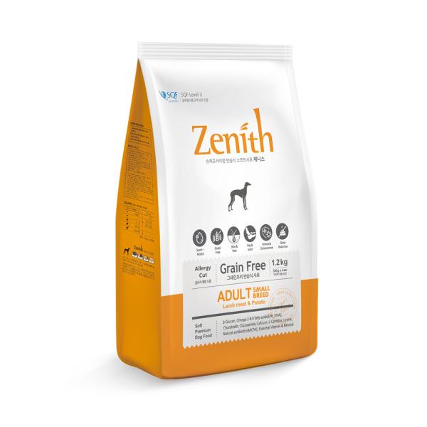 1.2KG Thức ăn hạt mềm cho chó trưởng thành ZENITH ADULT