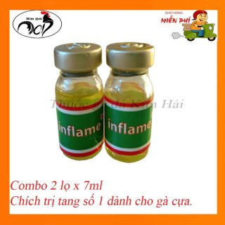 Tang imjlame-Combo 2 lọ x 7ml-siêu t.r.ị tang hiệu quả cho gà đá. thumbnail