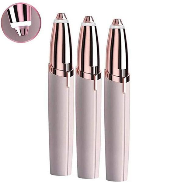 Bút tỉa lông mày cao cấp Flawless, Dụng cụ tẩy lông mặt siêu an toàn chính hãng
