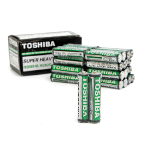 Pin tiểu nhỏ AAA (3A) Toshiba (Combo 10 viên)