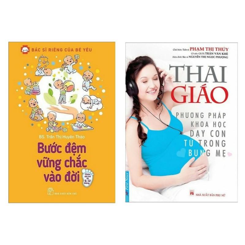Sách - Combo 2 Cuốn Bước Đệm Vững Chắc Vào Đời + Thai Giáo - Phương Pháp Khoa Học Dạy Con Từ Trong Bụng Mẹ