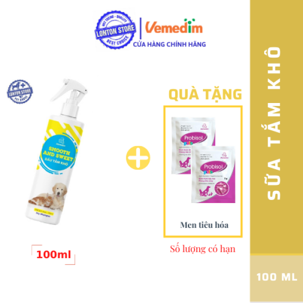 Dầu Tắm Khô Smooth and Sweet.  Lonton Store Vemedim