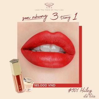 Son nhung 3 in 1 Chu Lipstick New Version 2018 thumbnail