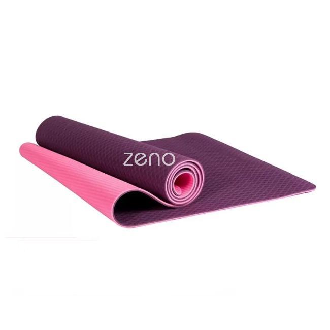 Thảm Tập Yoga 2 Lớp TPE Cao Cấp ZENO (Tím) Giá Tốt Không Nên Bỏ Lỡ