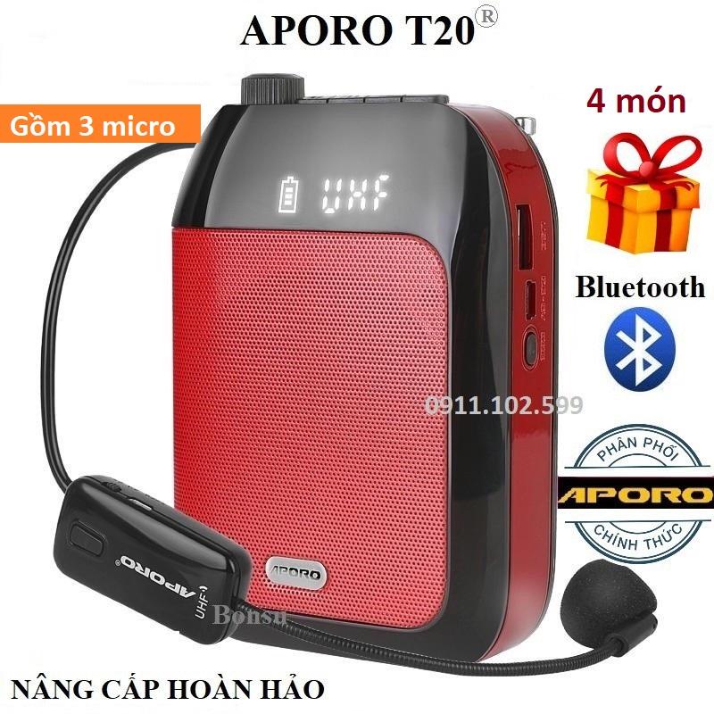 Loa trợ giảng Aporo T9 UHF tích hợp cả Bluetooth