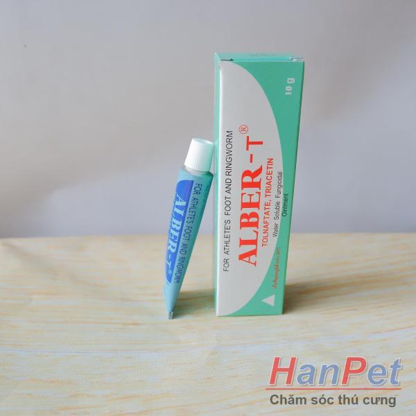 Mitecyn / Fungikur / ALBERT Bệnh Nấm mèo bệnh ngoài da trên chó ghẻ chó mãn tính xạng xịt và bôi Thu ốc ve rận bọ chét