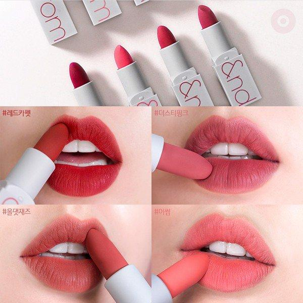 Son Thỏi Lì Romand Zerogram Matte Lipstick tốt nhất