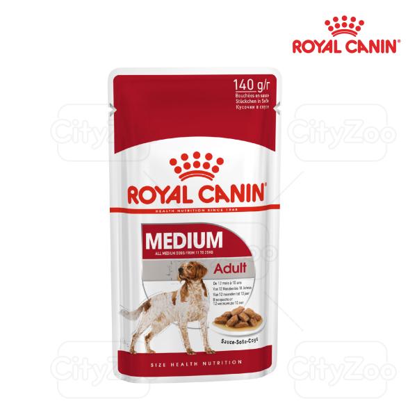 COMBO 10 PATE (1BOX) ROYAL CANIN MEDIUM ADULT