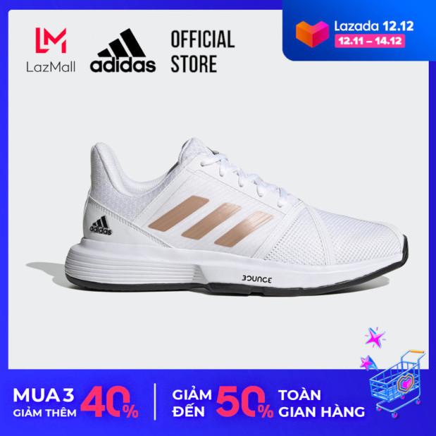 adidas TENNIS Giày CourtJam Bounce Nữ Màu trắng FU8147 giá rẻ