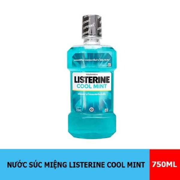 Nước súc miệng Listerine Coolmint 750ml Thái Lan giá rẻ