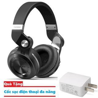 Tai nghe ốp tai Bluetooth Bluedio Turbine T2 nghe cực hay, âm thanh sống động Tặng kèm cốc sạc điện thoại đa năng thumbnail