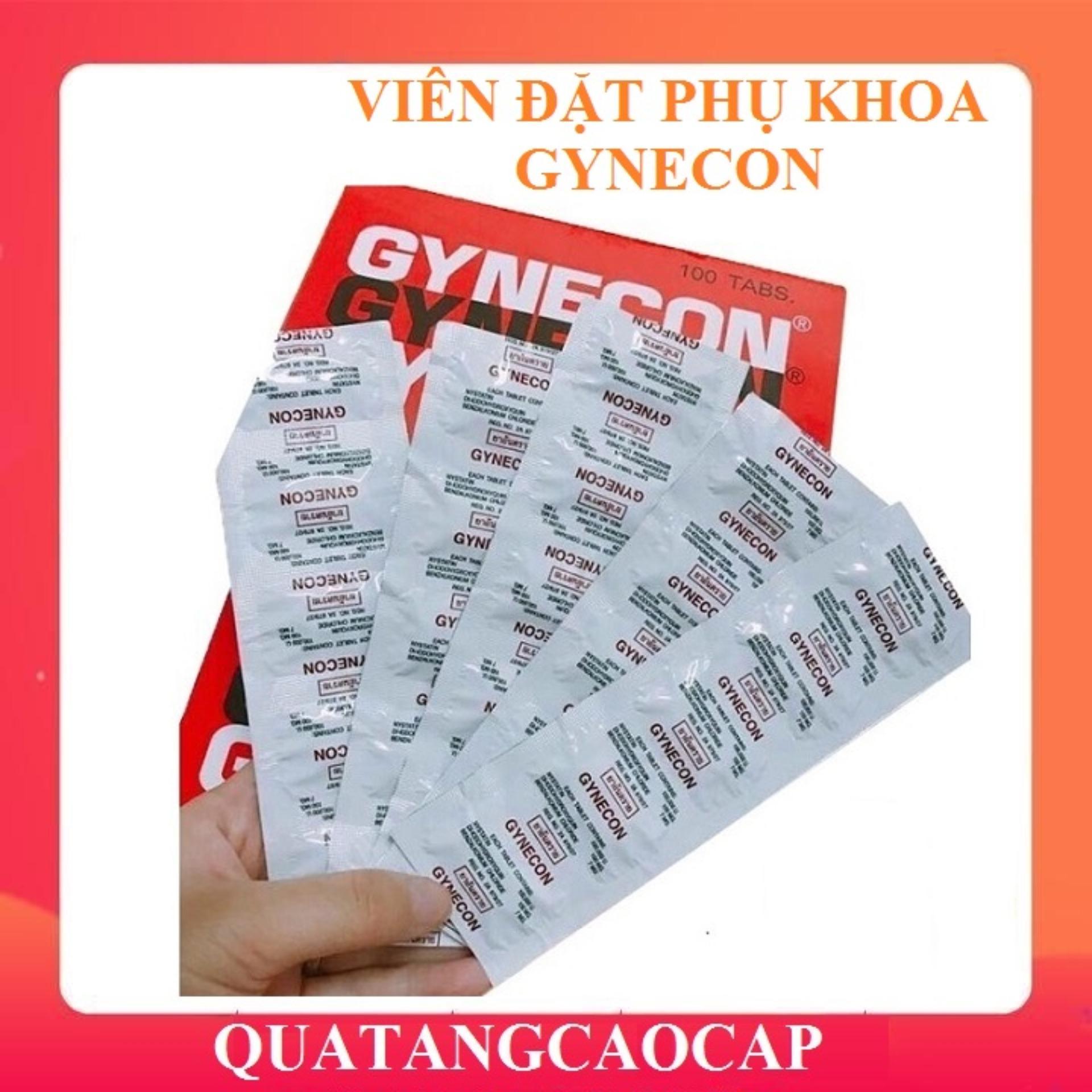 Viên Đặt Phụ Khoa Thái Lan Gynecon ( 1 vỉ 5 viên)