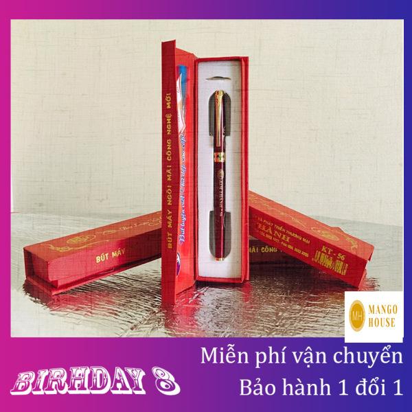Mua Bút máy luyện viết chữ đẹp Kim Thành 56 chính hãng- Tạo nét thanh đậm, Sắc nét, ôm tay,  Màu ra đều, Kèm hộp đựng sang trọng - Tặng kèm 01 ngòi thay thế- Bút máy, bút mực, bút luyện chữ, bút trẻ em- Mango House shop