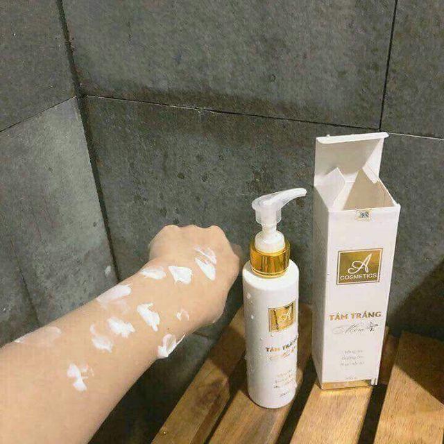(chính hãng)Kem tắm trắng da toàn thân body mềm A Cosmetics 200ml tốt nhất