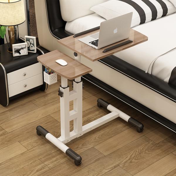 Bảng giá Bàn laptop di động, Bàn laptop để giường gấp gọn đa năng, bàn laptop 2 tầng kèm giỏ bút Phong Vũ