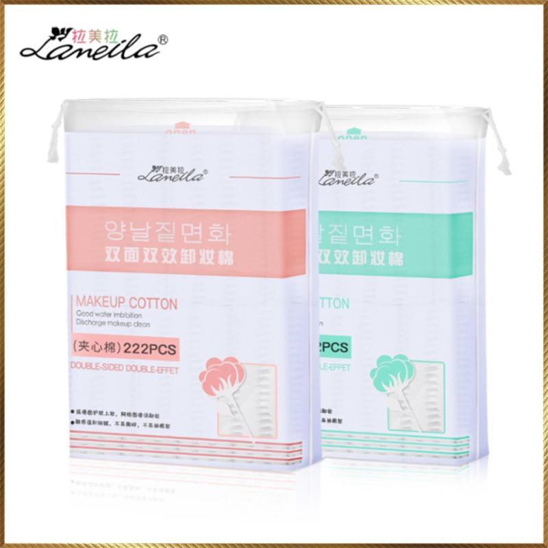 Bông tẩy trang Lameila 222 miếng nhập khẩu