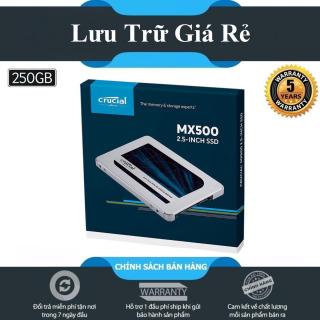 [HCM][New 2021] Ổ cứng SSD Crucial MX500 3D-NAND SATA III 2.5 inch 250GB - Hãng Phân Phối Chính Thức thumbnail