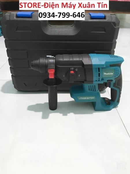 Thân máy khoan bê tông pin dùng chung pin makita 18vol.Chuẩn loại 1