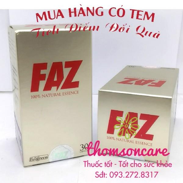 FAZ - hỗ trợ Giảm mỡ máu cholesterol - có tem tích điểm tặng quà chính hãng sản phẩm có nguồn gốc xuất xứ rõ ràng sử dụng dễ dàng cam kết hàng nhận được giống với mô tả