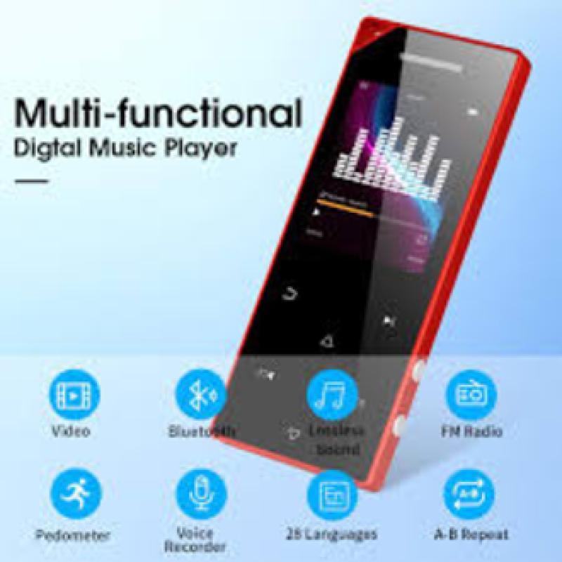 Máy Nghe Nhạc MP3 Bluetooth Ruizu D05 Bộ Nhớ Trong 8GB