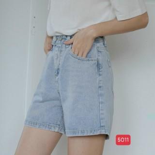 [HCM]Quần Bò Ngố Nữ Quần Jean Lửng Quần Jean ngố Nữ Cao Cấp Co giãn mạnhrách xước thời trang M.U_Shop. Ms5011 thumbnail