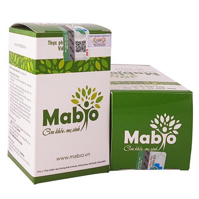 Viên uống lợi sữa Mabio lọ 60 viên (uống được 15 ngày)