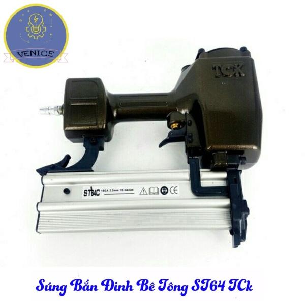 SÚNG BẮN ĐINH BÊ TÔNG ST64 TCK - Dùng máy nén khí - Bảo hành 12 tháng