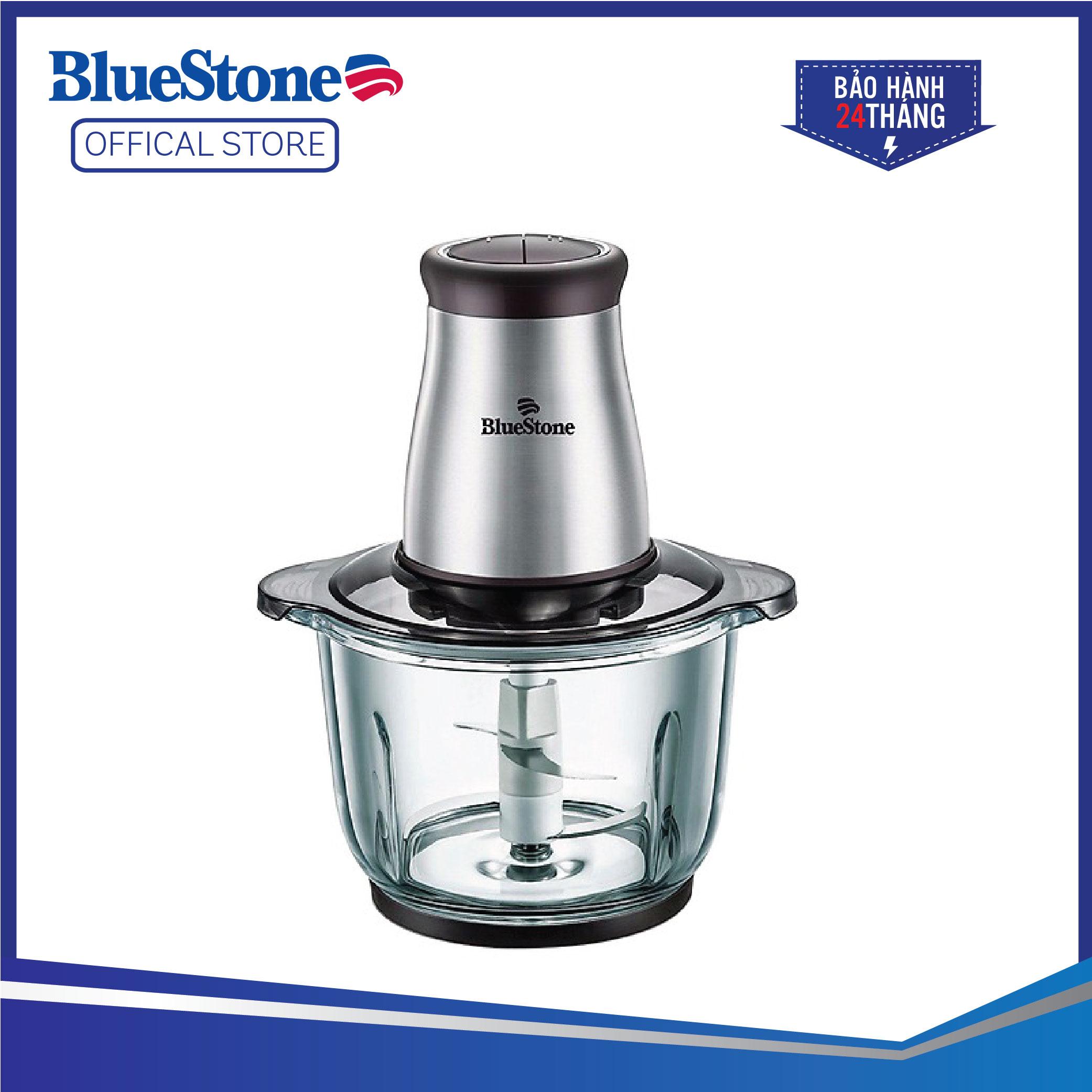Máy Xay Thịt Bluestone CHB-5139 (2L) - 2 Lưỡi Dao Kép - Cối thủy tinh chịu nhiệt cao cấp - Công suất mạnh mẽ 300W - Bảo hành 24 tháng - Hàng Chính hãng