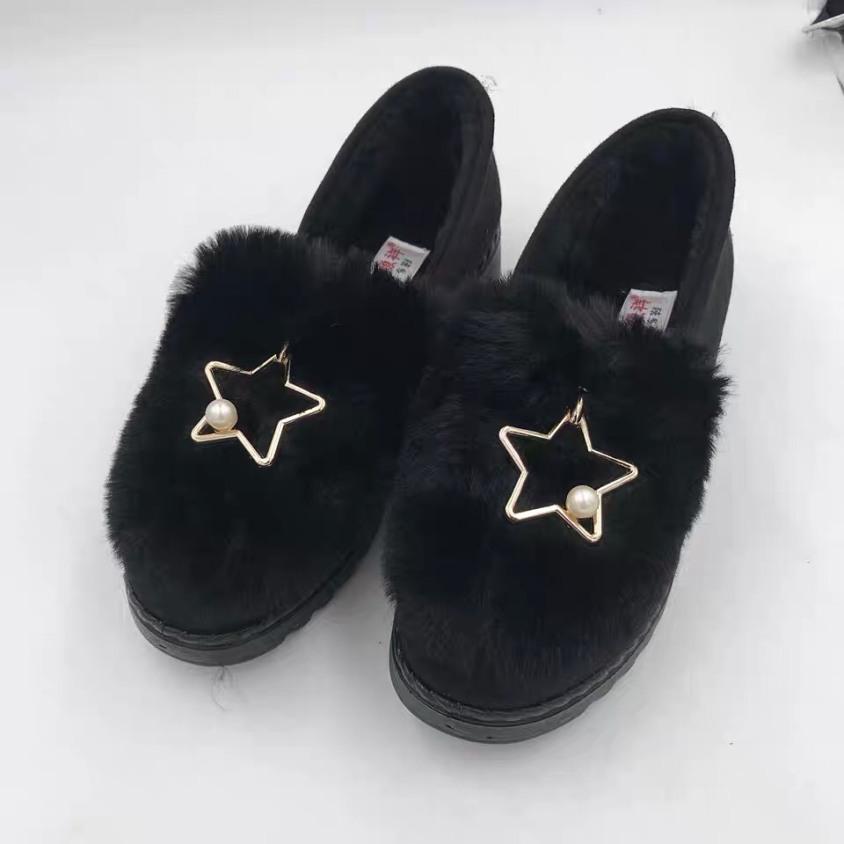 Giày đốc nơ lông siêu xinh mẫu mới 2020 giá rẻ