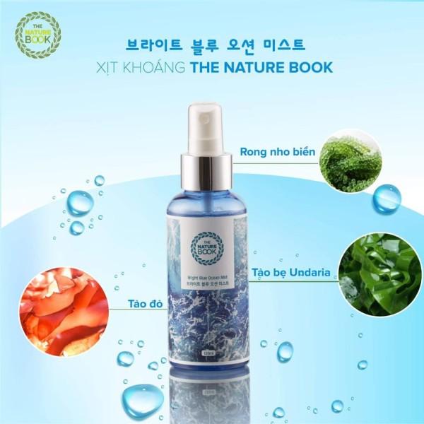 [CHÍNH HÃNG] Xịt Khoáng Dưỡng Ẩm Làm Trắng Da The Nature Book  giúp bổ sung dưỡng chất, làm trắng, tăng cường khả năng miễn dịch, bảo vệ da trước tác hại môi trường bên ngoài. giá rẻ