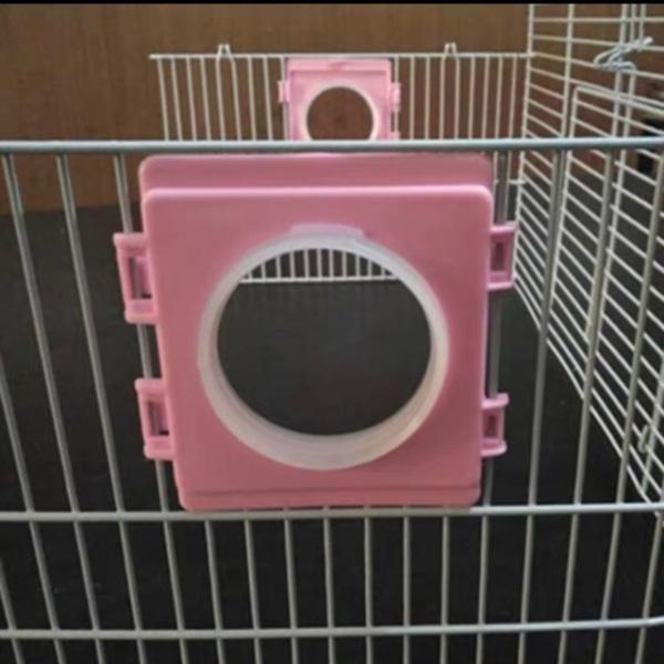 [Thu thập mã giảm thêm 30%] Cửa Chui Gắn Lồng Cửa Chui Kèm Vòng Co Đồ Chơi Cho Hamster